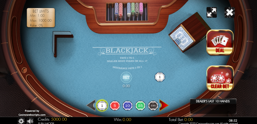 Blackjack Klasika